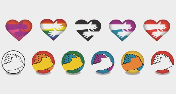 Lewinsky's new anti‑bullying emojis for Vodafone, inspired by teenagers. Photograph: Vodafone